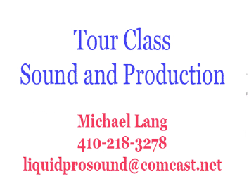 Tour Class Sound and Production